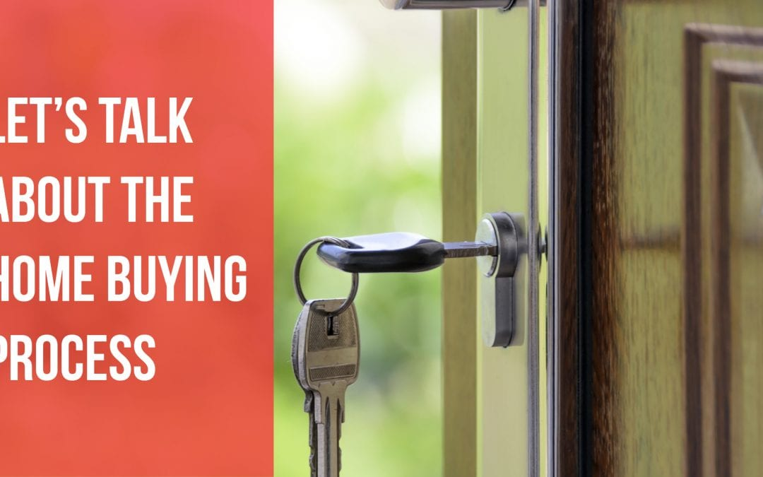 Let?s talk about the home buying process